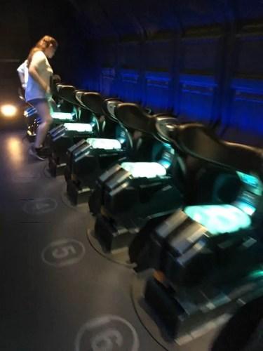 Avatar flight of passage ride vehicles
