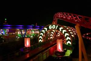 slinky dog dash hollywood studios at night