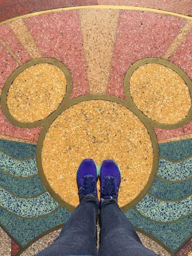 Hidden Mickey Shoes