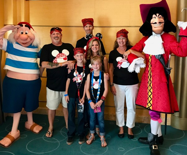 Pirate gear for the Disney Cruise