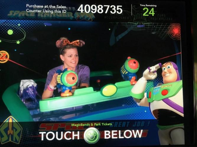 PhotoPass photo on Buzz Lightyear Space Ranger Spin