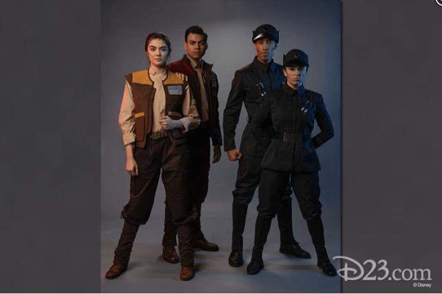 Star War Land Cast members Costumes 1