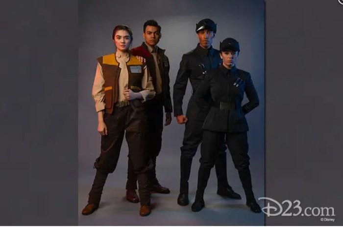 Star War Land Cast members Costumes 1