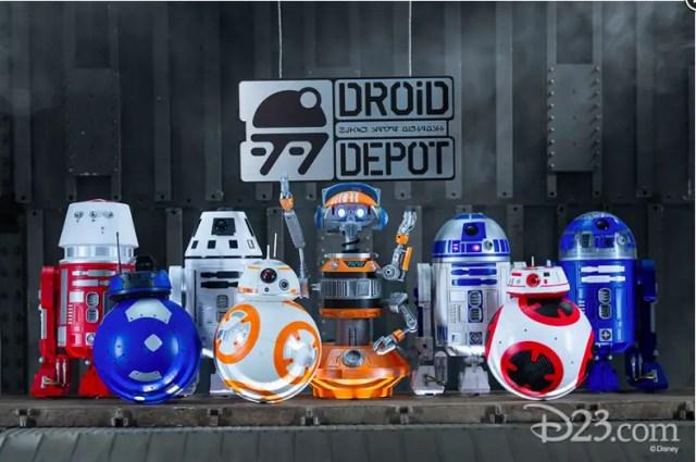 Star wars land droid depot