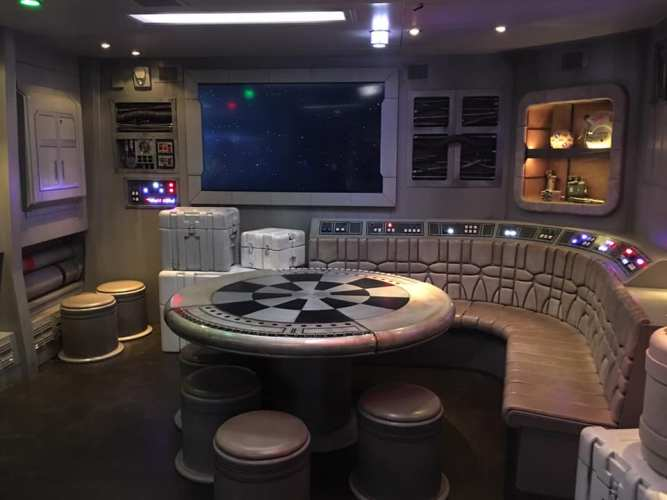 DCL Star Wars Table