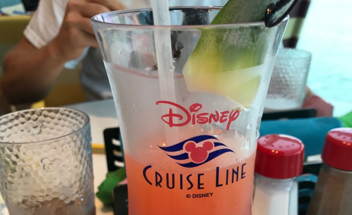 Disney Cruise Line Drink