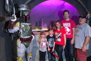 Boba Fett in Disneyland