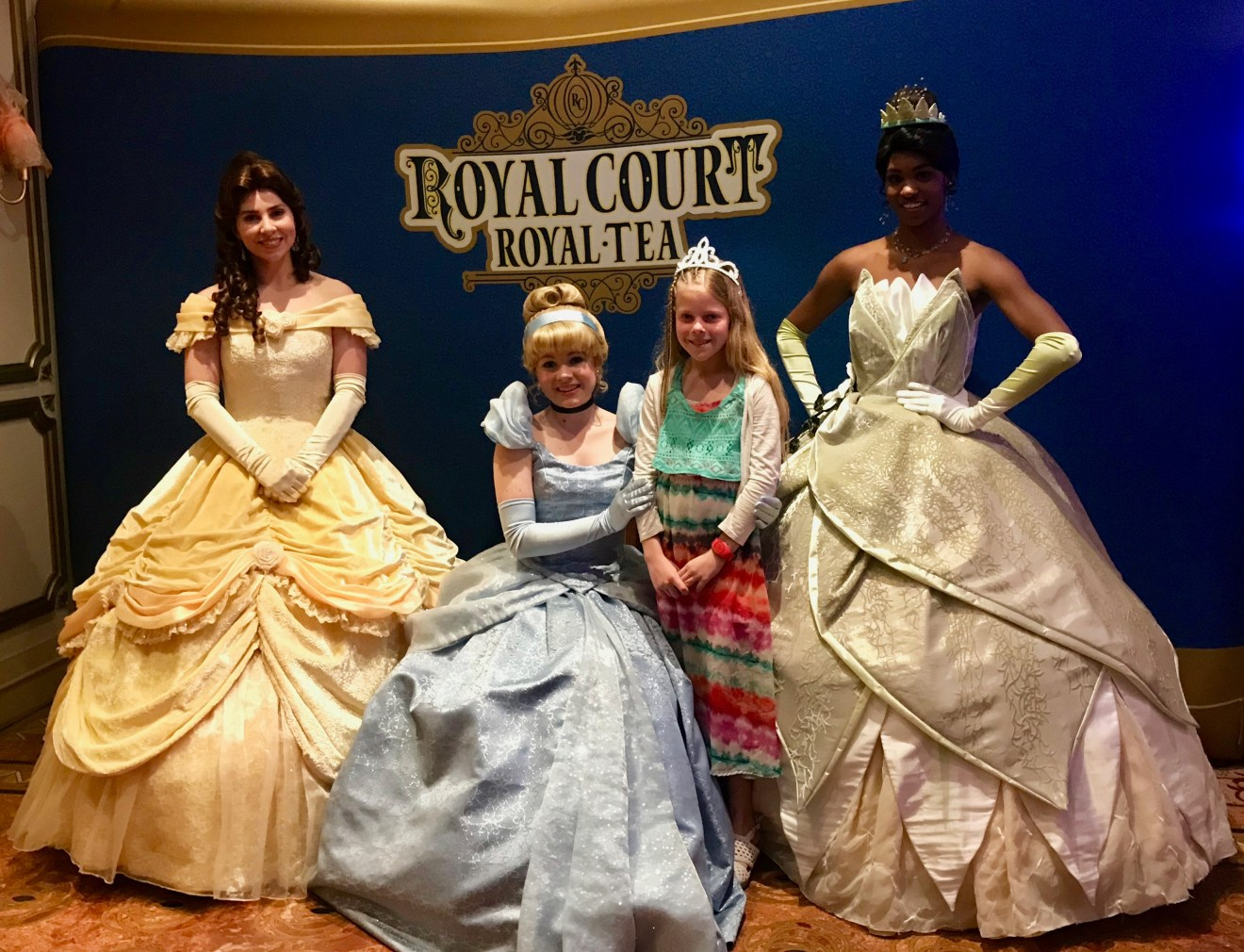 Royal Court Royal Tea picture with princesses