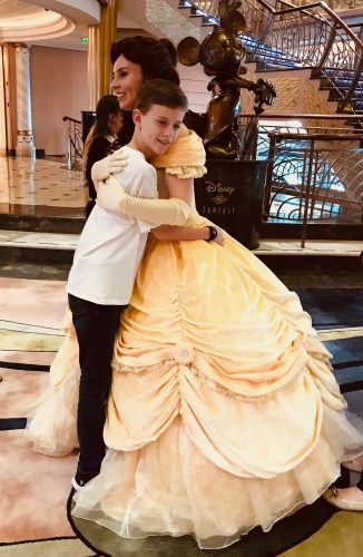 Princess Gathering with Belle