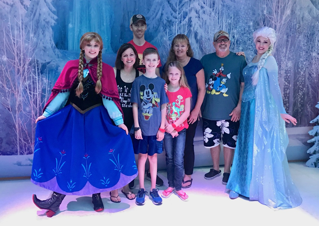 Frozen Character Gathering