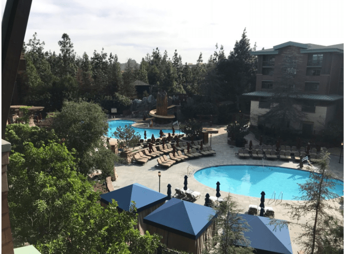 Pool at Grand California Resort and Spa