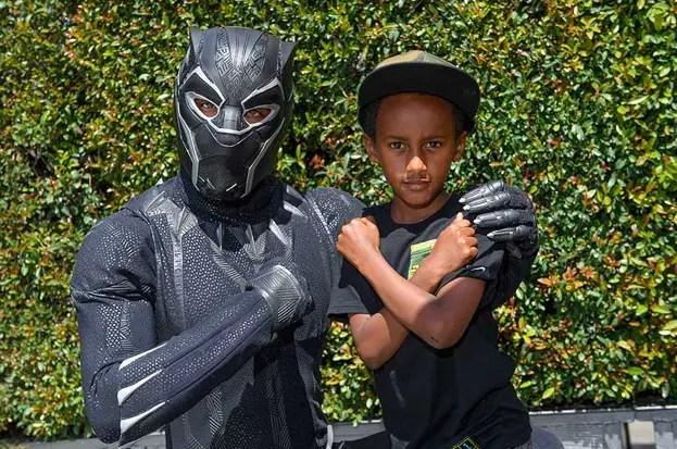 Black Panther in Disney's California Adventure