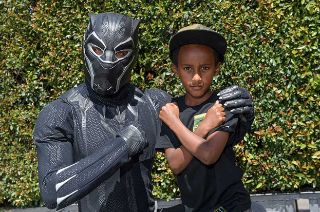 Black Panther in Disney's California Adventure