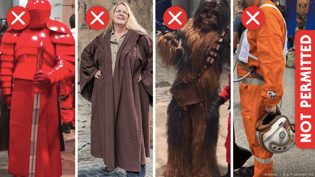 What not to wear to Batuu