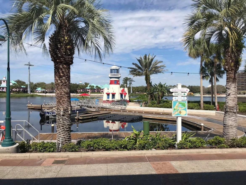 Disney's Caribbean Beach Resort planDisney Pocket Guide