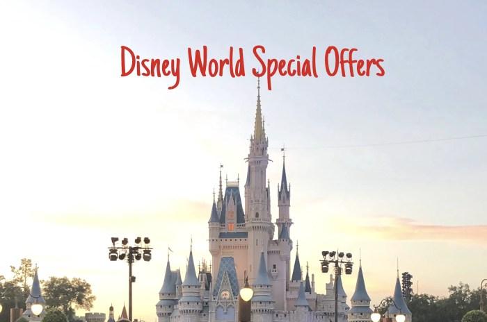 Disney World Offers