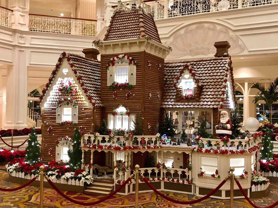 What is the Gingerbread House at the Grand Floridian?