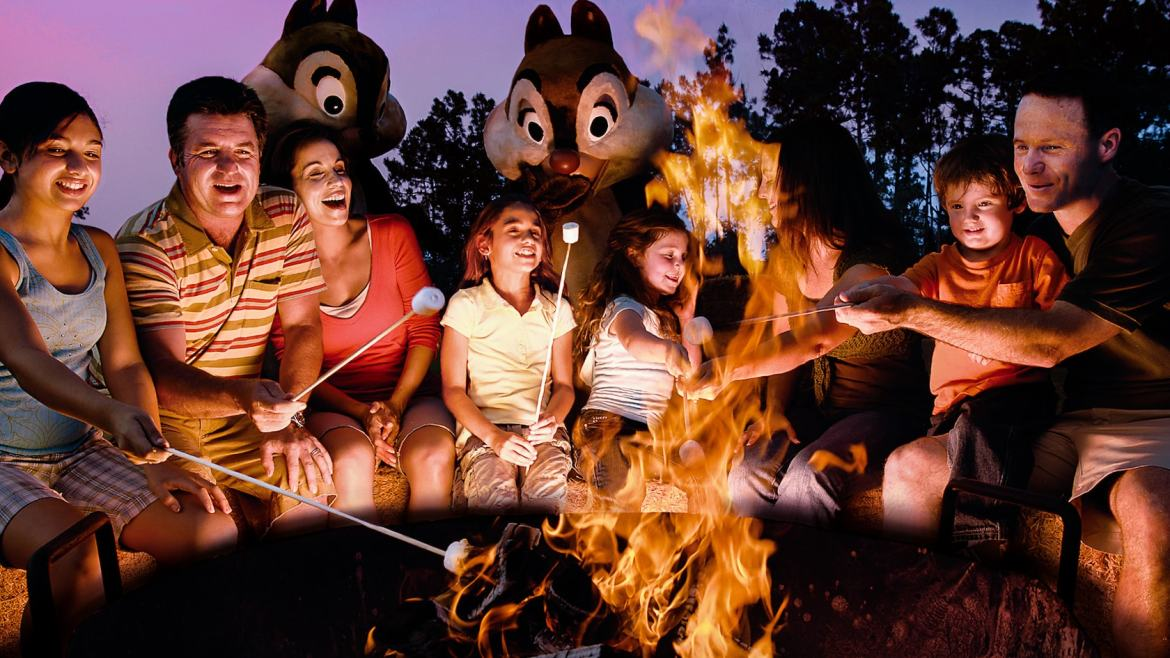 Chip 'n' Dale's Campfire Sing-A-Long at Disney's Fort Wilderness Resort