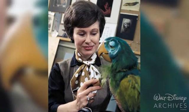 Walt Disney Imagineer Harriet Burns-First Female Imagineer