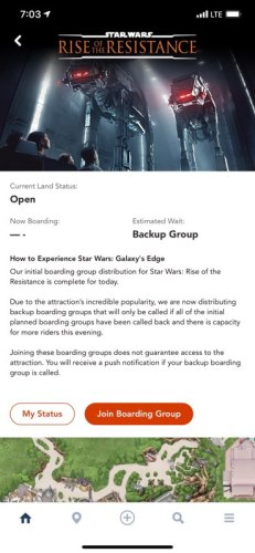 What You Need to Know: A Guide to getting a Boarding Group for Rise of the Resistance 3