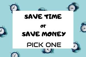 Disney Planning: Save Money or Save Time. Pick 1! 20