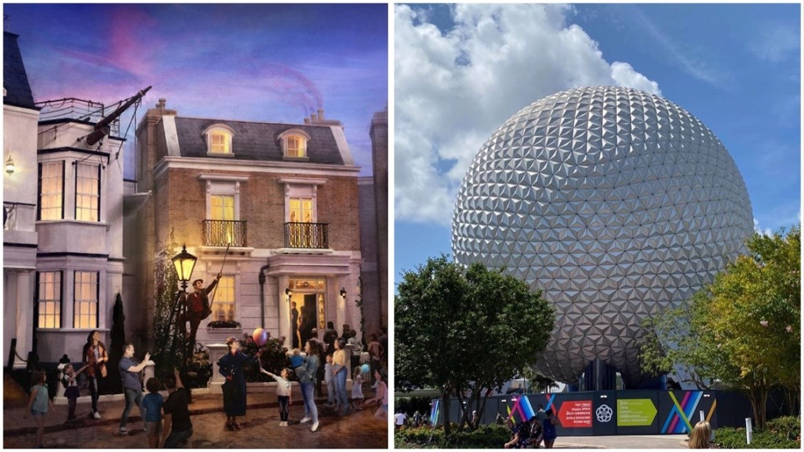 Mary Poppins And Spaceship Earth Projects Delayed