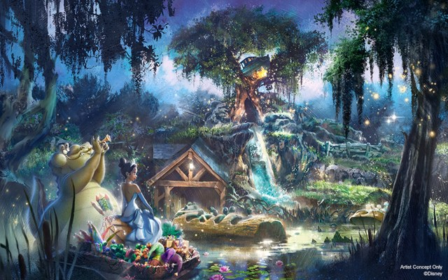 More Details On Splash Mountain Makeover And Tiana's Place Restaurant From Anika Noni Rose 2