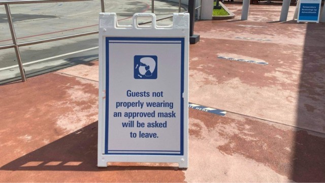 disney world face mask policy