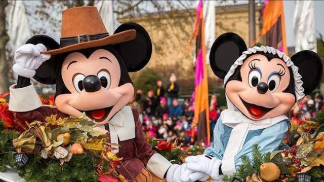 Thanksgiving Disney world