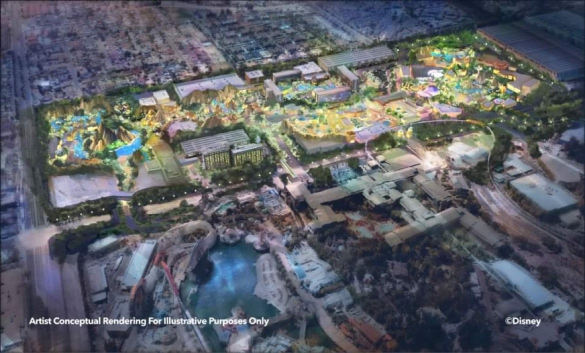 What is Disneyland Forward Expansion Project?