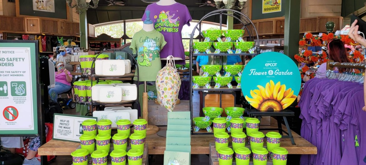 New Epcot Flower & Garden Festival Merchandise Is In Full Bloom!