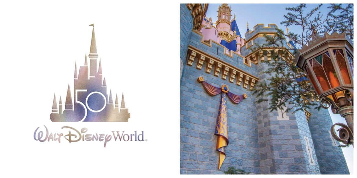 Cinderella Castle Receives First Piece Of Decor Ahead Of Disney World 50th Anniversary!