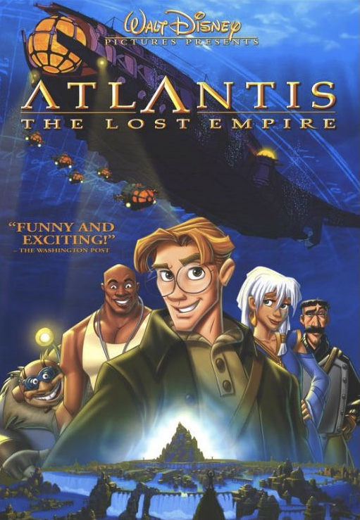 Celebrating the 20th Anniversary of Disney's Atlantis: The Lost Empire 3