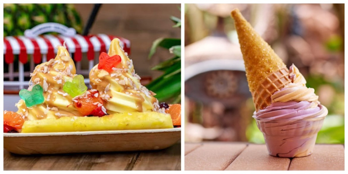Where you can find Dole Whip Treats at the Disney Parks & Resort