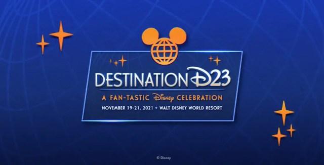 Destination D23 Event Happening at Disney World in November 1