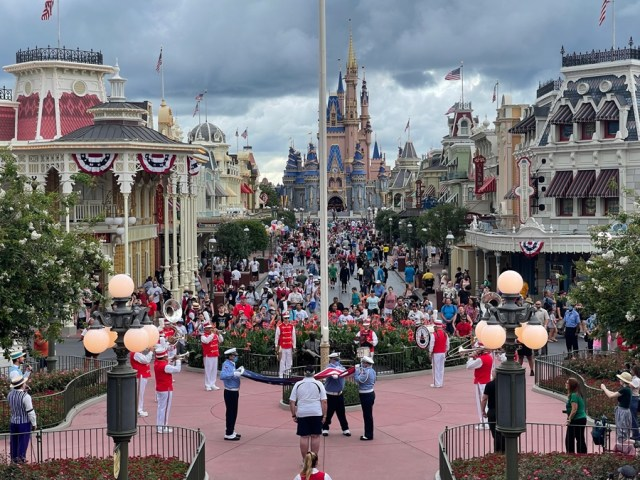 Disney Flag Ceremony