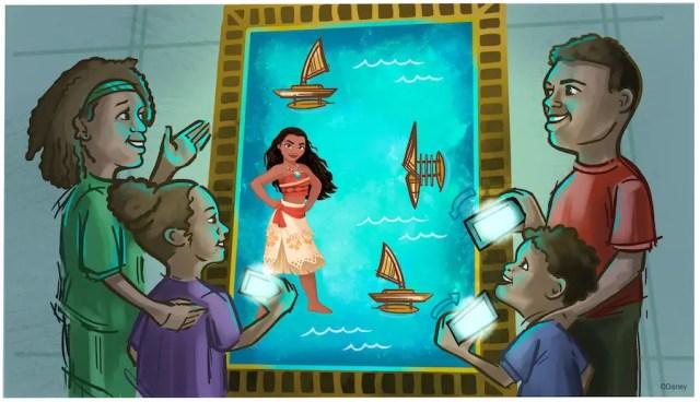 Celebrate Moana for World Princess Week 6