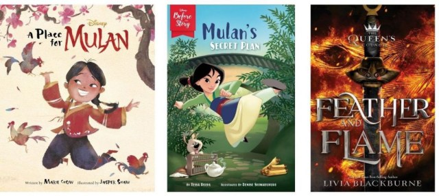 Mulan books