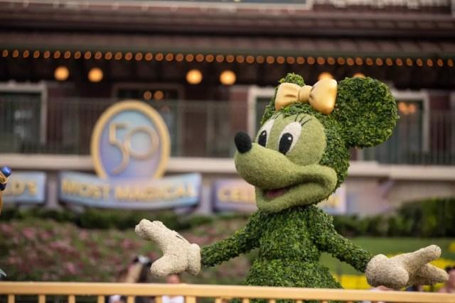 Magic Kingdom prepares for the Walt Disney World 50th Anniversary Celebration 3