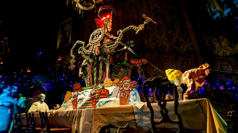 Haunted Mansion Holiday Gingerbread House Celebrates 20 Years