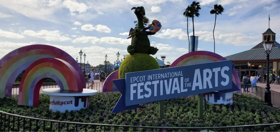 Epcot Festival of the Arts returns in 2022!