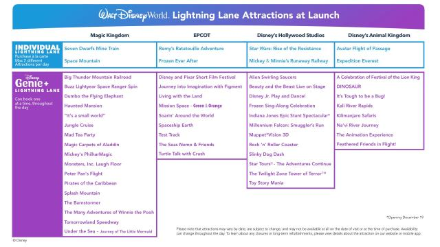 What is Disney Genie & Lightning Lane? 4