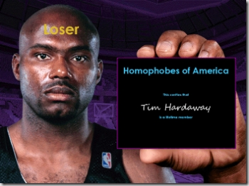 Tim Hardaway is Loser of the Week
