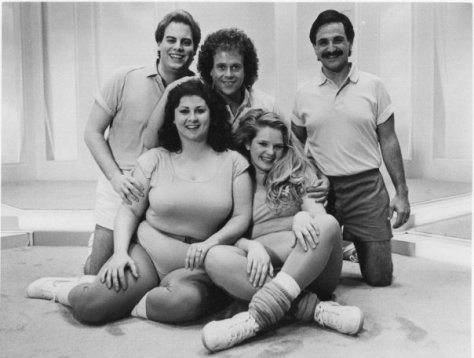 Cast of Get Started with Richard Simmons