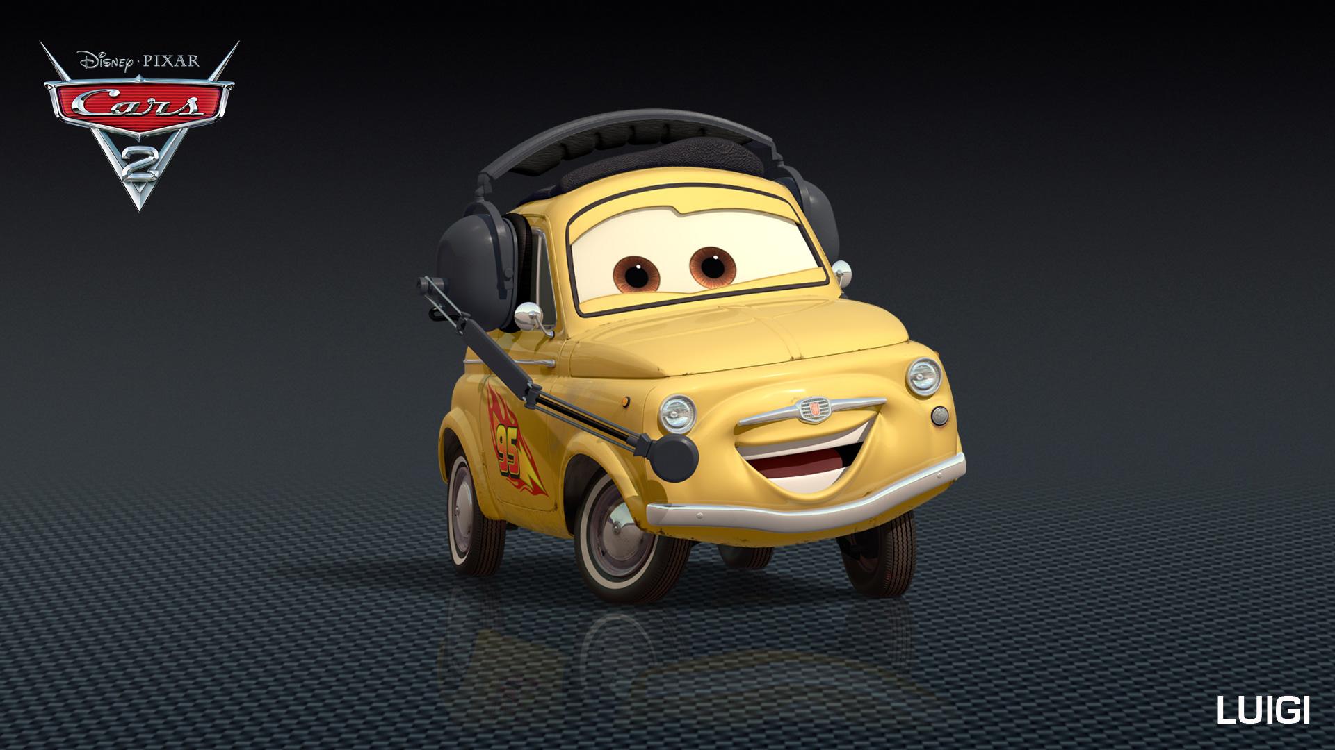 Disney Pixar Cars  Cars 2  Nouveaux Personnages