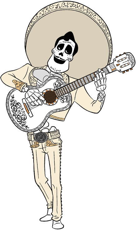 Coco Clipart : clipart, Music, Instrument:, Guitar, Clipart