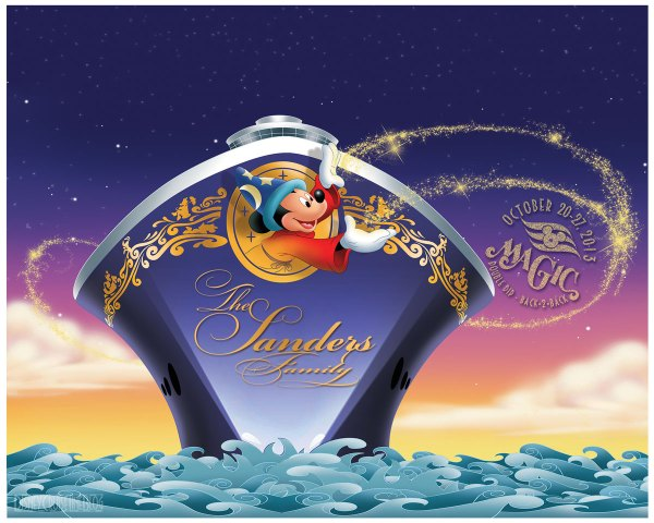 Disney Magic Cruise Ship Clip Art