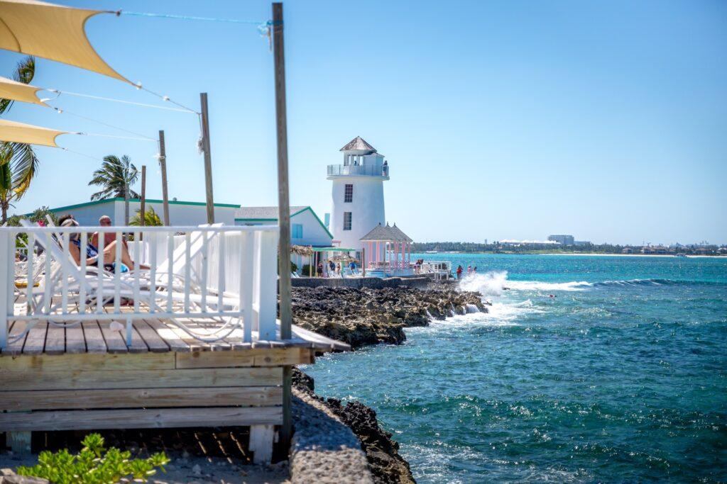 Pearl Island Bahamas Lighthouse