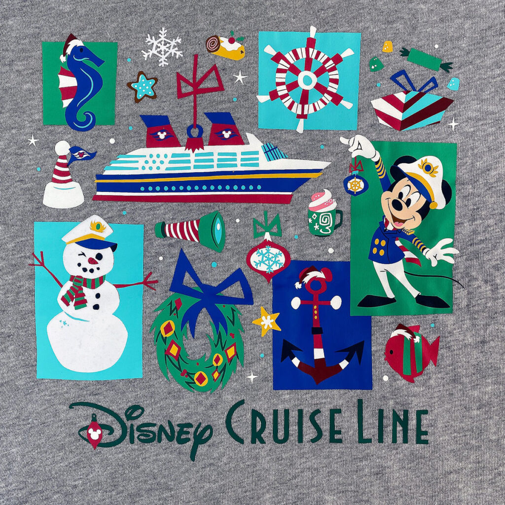 DCL Holiday Zip Hoodie Adult Back Graphic