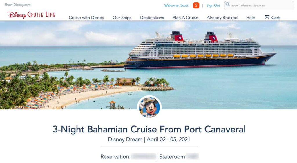 DCL April Cruise Reservation 20210116